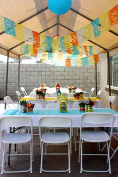 Ms_Tiniposh's Birthday / Fiesta - Photo Gallery at Catch My Party Mexican Birthday Parties, Mexican Fiesta Party, Fiesta Theme Party, Birthday Party Themes, 7th Birthday, Birthday Ideas, 50 Y Fabuloso, Fiesta Decorations, Party Ideas