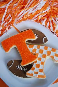 University of Tennessee Sugar Cookies