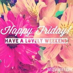 Happy Friday to all of our wonderful survivors, families, caregivers, and supporters! Have a wonderful and safe weekend!