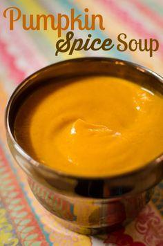 Pumpkin Spice Soup Recipe