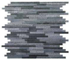 Wall mosaics   Wall coverings   Split Plus lavastone mosaic. Check it out on Architonic