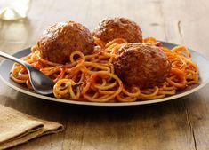 Italian Meatballs - Johnsonville.com Sausage Meatballs, Tasty Meatballs, Italian Meatballs, Rib Recipes, Italian Recipes, Cooking Recipes, Italian Meals, Yummy Recipes, Pasta