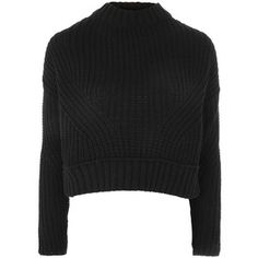 TopShop Knitted Crop Sweater