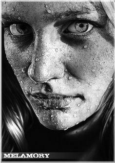Pencil Portraits in Process