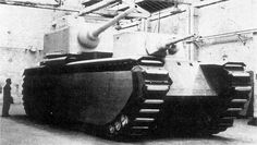 FCM F1. French tank development between the wars was convoluted, with many overlapping projects. The FCM F1 was a compromise super-heavy design intended to replace the Char 2C and designed to attack fortifications. It had a rear turret that could mount a 90mm gun and a lower front turret with a 47mm gun. 12 were ordered in 1940, making it the heaviest tank ever ordered for production at the time. France was defeated before any could be produced, leaving only a wooden mock-up.