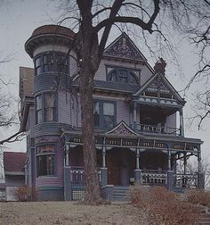 QUEEN ANNE STYLE HOUSE | BEAUTIFUL HOUSES PICTURES