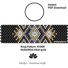 peyote ring patternPDF-Download 156R