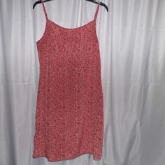 01361e107a0 Cool item  Women s Size M  L Orange Floral Dress