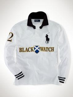 952a7db953ba Polo Black Watch coupe ajustée - Rugby Voir toutes les lignes - Ralph Lauren  France