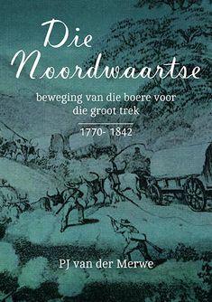 Hierdie reeks van 3 historiese boeke deur P.J. van der Merwe herleef weer deur middel van digitale druk-tegnologie. Die oorspronklike boeke is geskandeer en is nou beskikbaar in druk- en PDFformaat, as 'n stel of individueel.  Die ander boeke in die reeks is Die Noordwaartse Beweging van die Boere voor die Groot Trek (1770‑1842) en TREK – Studies oor die Mobiliteit van die Pioniersbevolking aan die Kaap (1770‑1842). Trek, Author, Van, Movie Posters, Film Poster, Popcorn Posters, Film Posters, Vans, Posters
