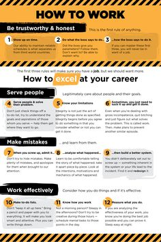 One philosophy on work and how to excel at your career. How to get a job and keep it and take the next step in your career.