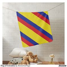 Flag of Colombia Buggy Blanket