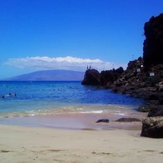 Black Rock Beach, Kaanapali, Maui 2013.  Best part: sea turtles swimming right up to you!  Kids loved it!