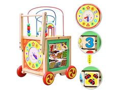 Pre Order Special - Expected shipping date is the of May. Please note, this is an estimate and the actual date may vary a few days either way. Activity Cube, Activity Centers, Shipping Date, Creative Play, Educational Toys, Toddler Activities, Centre, Learning, Study