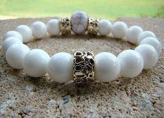 Beaded Bracelet, Summer Jewelry, Bohemian Jewelry, Summer Bracelet, Beaded Stretch Bracelet, Women Jewelry, Bohemian Stacking Bracelet, Boho by BeJeweledByCandi on Etsy