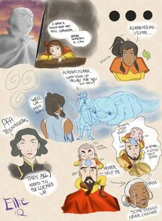 The only reasons I put up with stupid sports and stupid steampunk New York: 1. Sometimes Aang.   2. Tenzin is a boss.  3. Airbabies.
