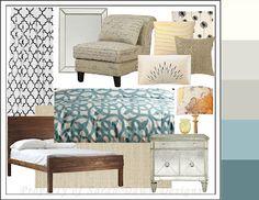 Blue Bedroom Ideas (Inspiration Board)