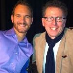 My best Buddy aus USA - Nick Vujicic the man with no arms and no legs - but with a great heart.