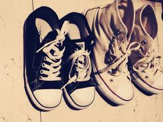 my son's and my converse
