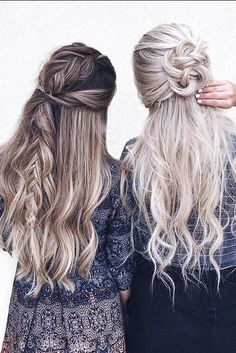 Flair for Hair, hairstyles, long hair, braided hair, hair goals My Hairstyle, Pretty Hairstyles, Braided Hairstyles, Hairstyle Ideas, Date Hairstyles, Holiday Hairstyles, Dreadlock Hairstyles, Corte Y Color, Love Hair
