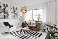 Small and Chic Scandinavian Apartment - design attractor