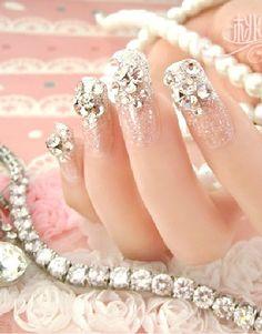 28 Fotos de Uñas decoradas para Novias 2014/2015 – Parte 2   Decoración de Uñas - Manicura y NailArt