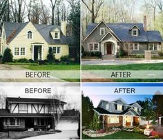 Gorgeous Before And After Home Renovations Photos)