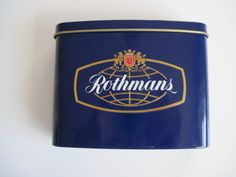 Rothmans Curved Pocket tin with contents (40)