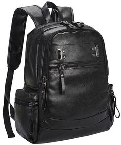 4FSGLOBAL Shoulder Backpack Korean Style Men Travel Bag Composite Leather  Large Capacity Student f1bfc4a1cc40b