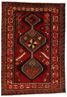 Lori - Bakhtiari Persian Carpet 213x149