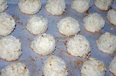 Newfoundland Recipes-Coconut-Macaroons-saltjunk.com