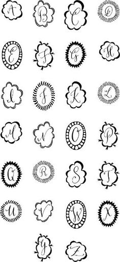 monograms by princess_krystal