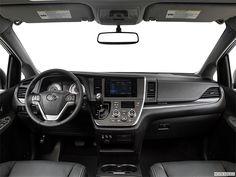 2015 Minivan Toyota Sienna Interior