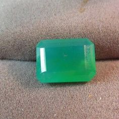 5.06 ct Rare GEM Natural Silica Chrysocolla Ray mine az 12.5 x 9.5mm Emerald Cut
