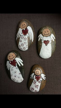 - Best Picture For crafts room For Your Taste You are looking for something, - Stone Crafts, Rock Crafts, Diy Crafts To Sell, Christmas Crafts, Arts And Crafts, Rock Painting Patterns, Rock Painting Ideas Easy, Rock Painting Designs, Pebble Painting