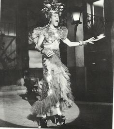 Jerry Lewis 'as' Carmen Miranda in Scared Stiff (1953, George Marshall director)