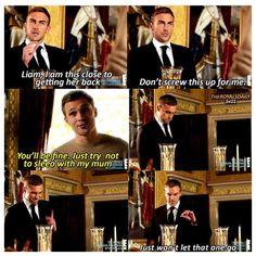 Jasper & Liam Season 3 The Royals Just don't sleep with my Mum