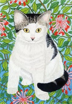 Mari, by Peter Robinson. I love this little cat! :)