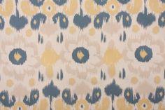 Premier Prints Rio Drapery Fabric in Denim/Natural $7.48 per yard