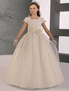 Vestido para niña de primera comunión de Alicia nfants 2012