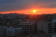Photography Contest Discover Europe - Won Internet Users Award ;) The Incredibly Sunrise taken in Marseille, France ;)