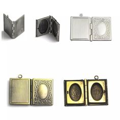 2017 Beadsnice Brass Book Locket Engraved Locket Book Charm Gift Item For Her Double Locket Findings Supplies Id 32275 From Beadsnice, $18.47   Dhgate.Com