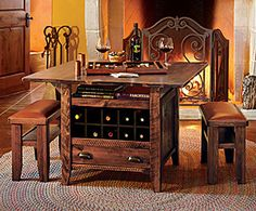 """Liking this more than the PB project table. Smaller (42"""" square) and has space for 4 benches. Wine bottle slats are removable."""