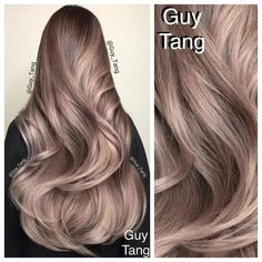 photos of guy tang silver balayage hair coloring on models with brown hair - Yahoo Image Search Results