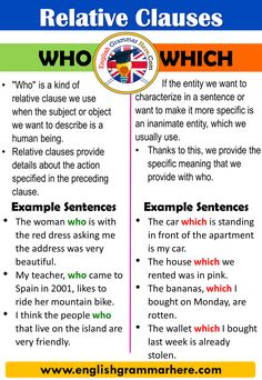 How to use Relative Clauses in English, Examples Relative clauses are used to link sentences in English, to strengthen the English Writing Skills, Learn English Grammar, Learn English Words, English Language Learning, English Lessons, English English, English Sentences, English Vocabulary Words, Common Grammar Mistakes