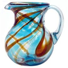 Sinatra Pitcher (421160046), Recycled Glasses & Drinking Glasses| Colored Glassware – Pitchers and Decanters