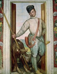 Self Portrait in Hunting Costume, 1562 Paolo Veronese (Caliari)