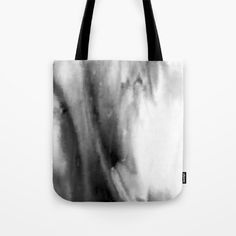 Black and White Distortion Tote Bag by Saribelle Inspirational Art | Society6