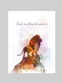 Aslan Quote ART PRINT Narnia Lion Nursery Gift Wall Art | Etsy