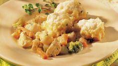 Just like Grandma used to make!  Savory mounds of dough to top bubbling stew.